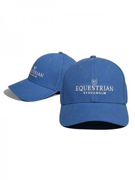 Equestrian Stockholm Cap Parisan Blue, bei Ambery