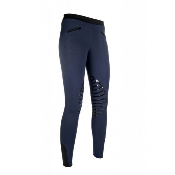 Damen Reitleggings - Starlight - Silikon-Kniebesatz
